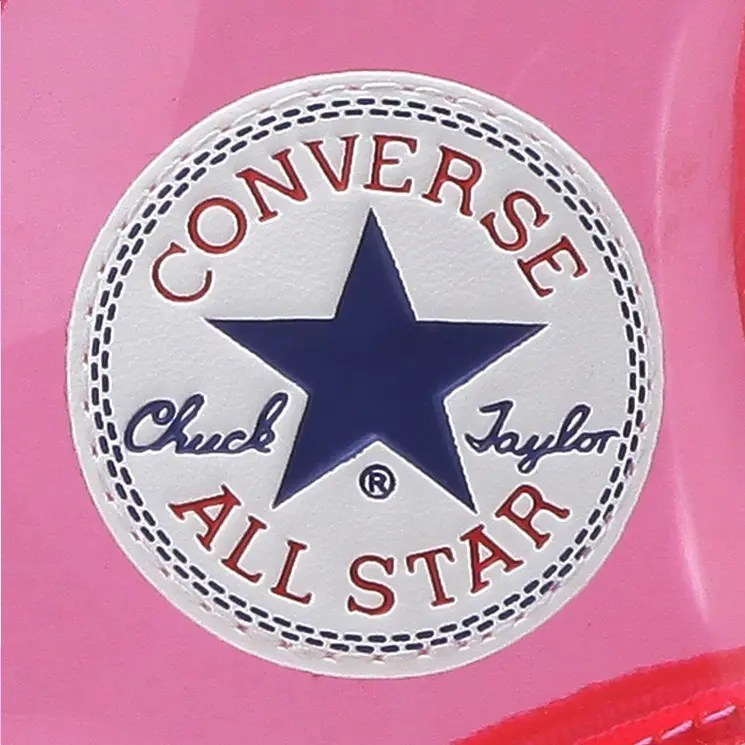 Converse All Star Light Clear Material Hi Pink 2