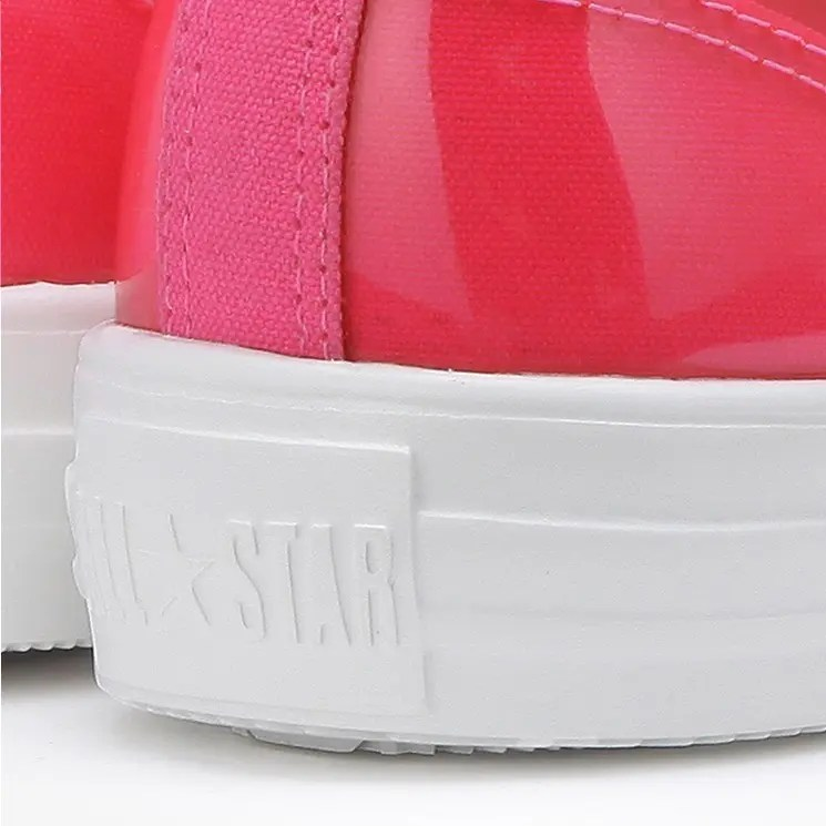 Converse All Star Light Clear Material Hi Pink 5