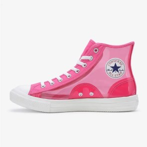 Converse All Star Light Clear Material Hi Pink 6