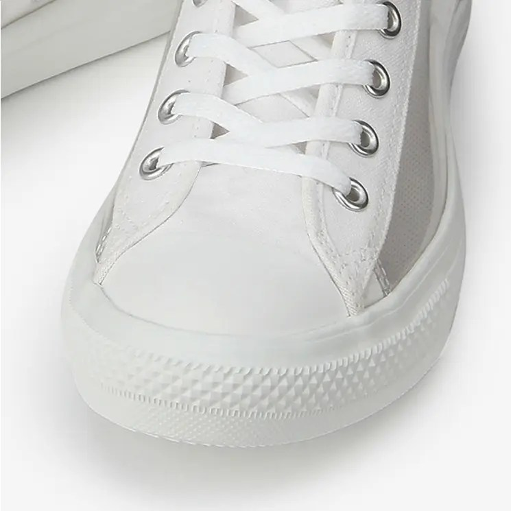 Converse All Star Light Clear Material Hi White 3