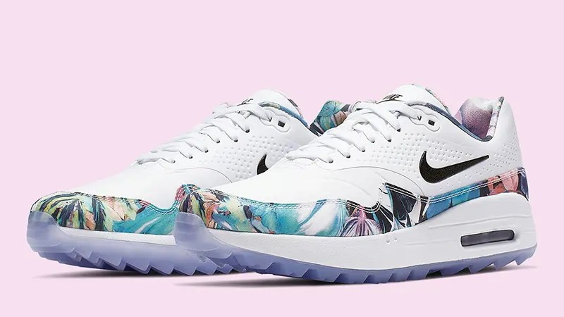 Nike-Air-Max-1-Golf-Floral-White-Womens-BV0658-100-front