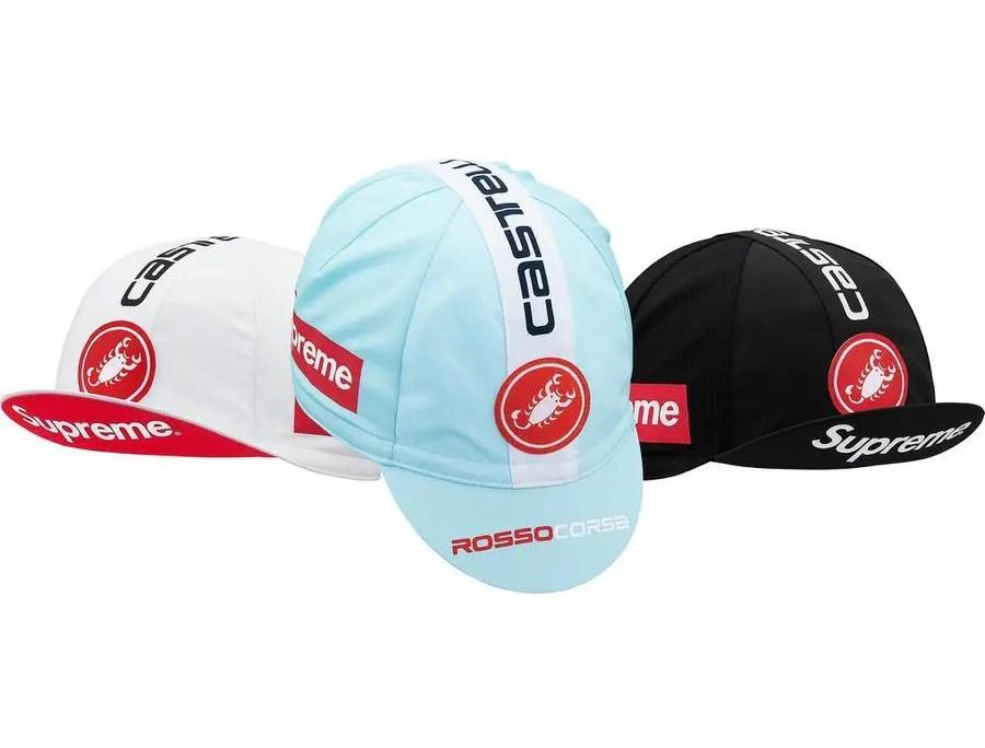 Supreme 19ss week 17 Supreme Castelli Cycling Hat