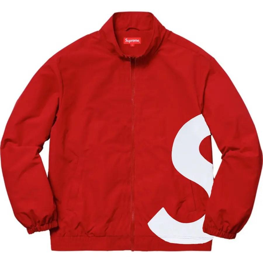 Supreme 19ss week 18 S Logo Track Jacket