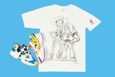 Toy Story × BAIT × Reebok INSTAPUMP FURY Woody Buzz トイストーリー ベイト リーボック インスタポンプフューリー コラボ スニーカー