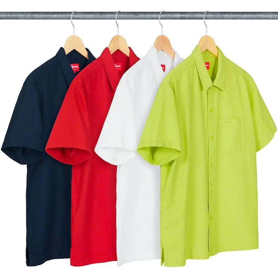 supreme-week-18-Pinhole SS Shirt