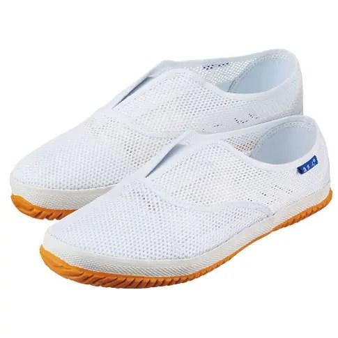 TG100Wクッションメッシュ 建さん 作業靴_white