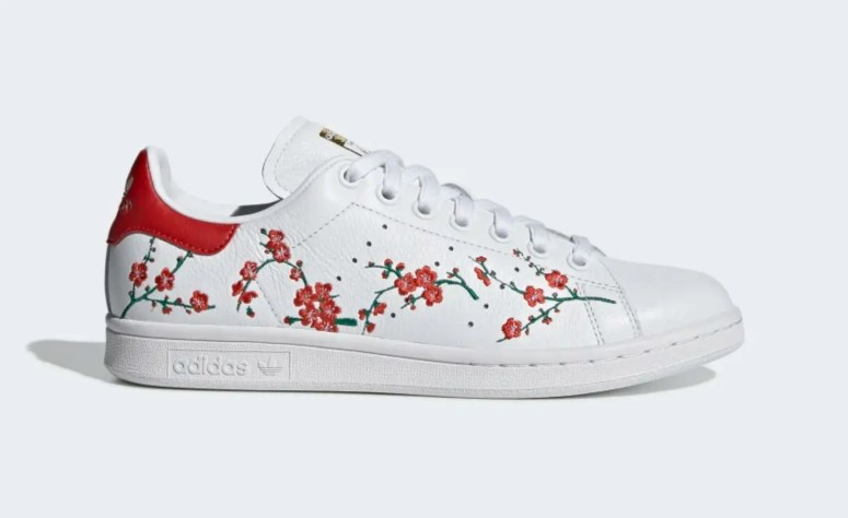 adidas originals stan smith CLOUD WHITE SCARLET CORE BLACK EG2863-01