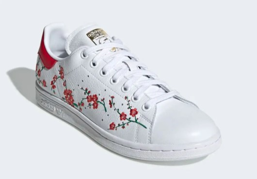 adidas originals stan smith CLOUD WHITE SCARLET CORE BLACK EG2863-03