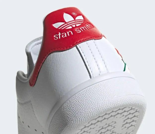 adidas originals stan smith CLOUD WHITE SCARLET CORE BLACK EG2863-06