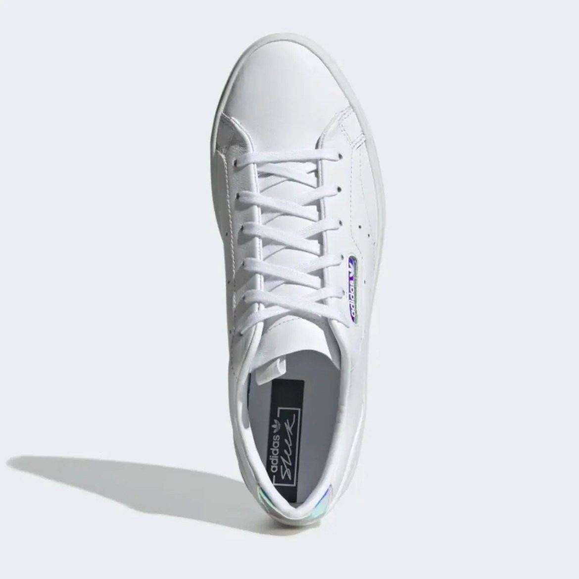 adidas sleek shoes Cloud White Crystal White Core Black EG2685-02