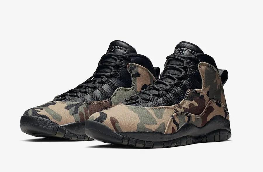 ナイキ エアジョーダン10 カモフラ (Nike Air-Jordan-10-Camo-310805-201-01)
