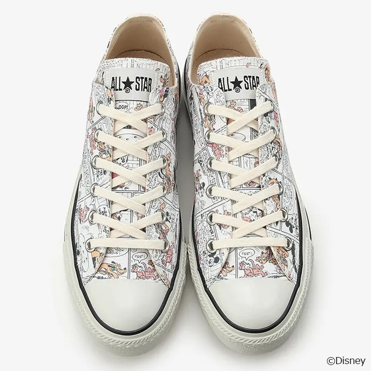 CONVERSE DISNEY ALL STAR MICKEY MOUSE LOCALIZE OX-04
