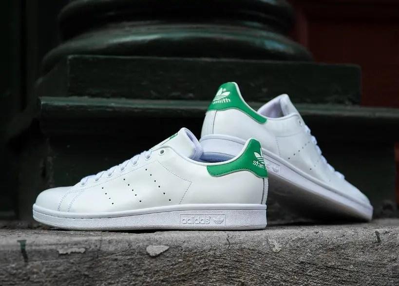 adidas Originals STAN SMITH RUNNING WHITE OFF WHITE BOLD GREEN 19SS-I-01
