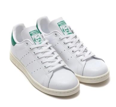 adidas Originals STAN SMITH RUNNING WHITE OFF WHITE BOLD GREEN 19SS-I