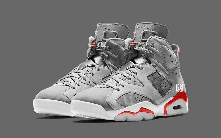 "Nike Air Jordan 6 ""Neutral Grey"" (ナイキ エア ジョーダン 6 ""ニュートラル グレー"")"