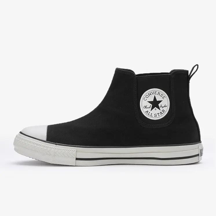 コンバース オールスター WR サイドゴア Hi ブラック (Converse All Star WR Sidegore Hi black)