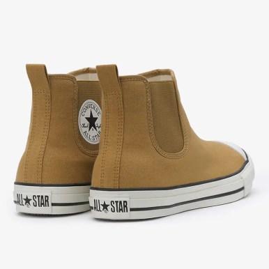 コンバース オールスター WR サイドゴア HI ライトブラウン (Converse All Star WR Sidegore Hi light brown)