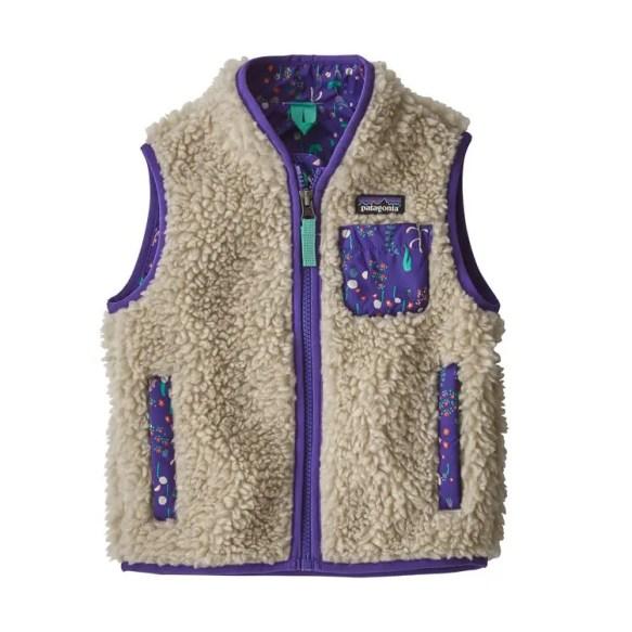 パタゴニア ベイビー レトロ X フリース ベスト 2019年 新作 (Patagonia Baby Retro-X® Fleece Vest)