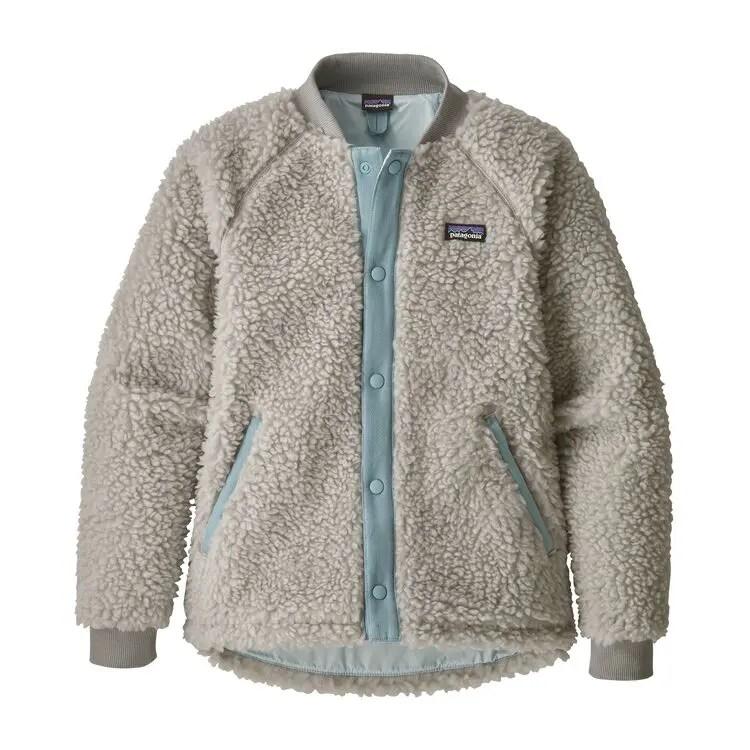 パタゴニア ガールズ レトロ X フリース ボンバージャケット 2019年 新作 (Patagonia Girls' Retro-X® Fleece Bomber Jacket)