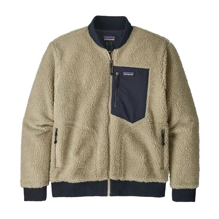 パタゴニア メンズ レトロ X フリース ボンバー ジャケット 2019年 新作 (Patagonia Men's Retro-X® Fleece Bomber Jacket)