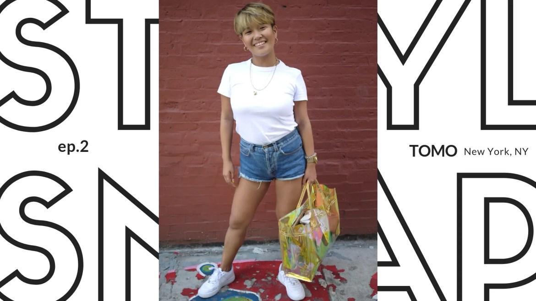 ニューヨークのスタイルスナップ写真 (Style_Snap_Tomo)