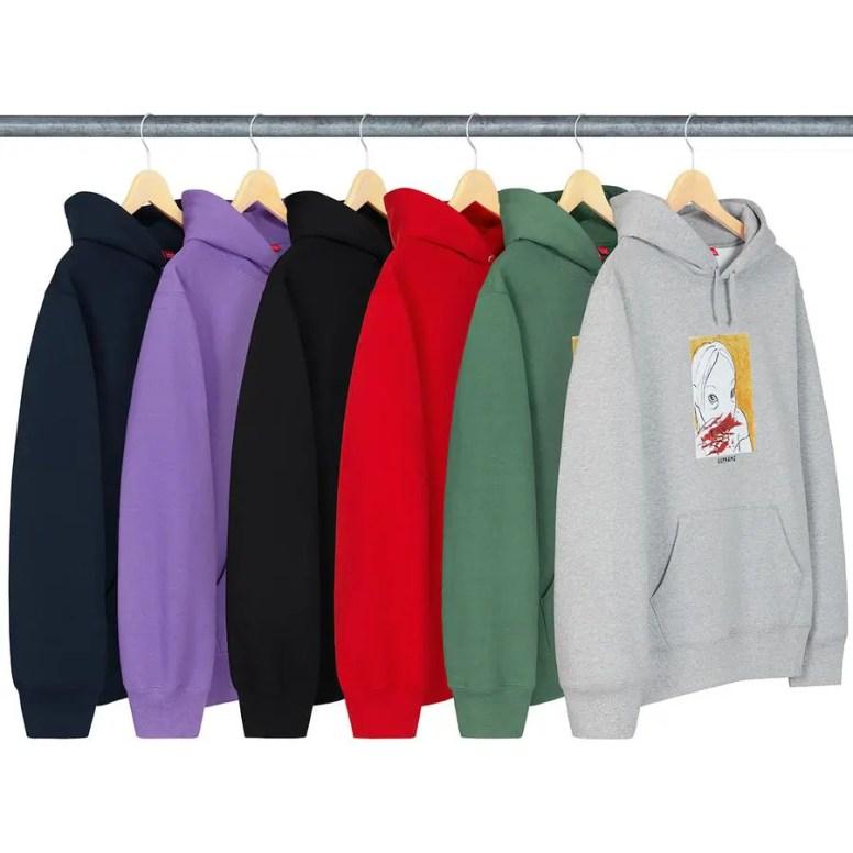 Supreme シュプリーム 2019FW Week 3 ブリード フーディ スウェットシャツ (Bleed Hooded Sweatshirt)