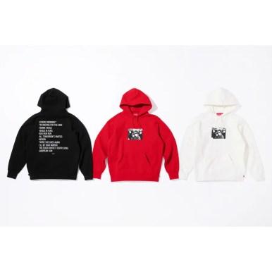 Supreme/The Velvet Underground Hooded Sweatshirt (via Supreme NYC) 2019年 秋冬 新作 Week 4