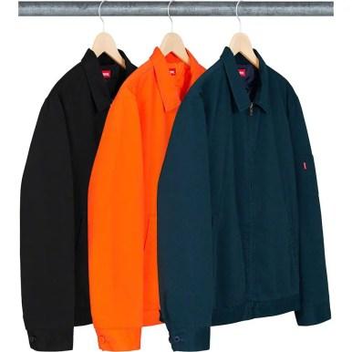シュプリーム 新作 WEEK 2 (Supreme_2019fw_Cop Car Embroidered Work Jacket)