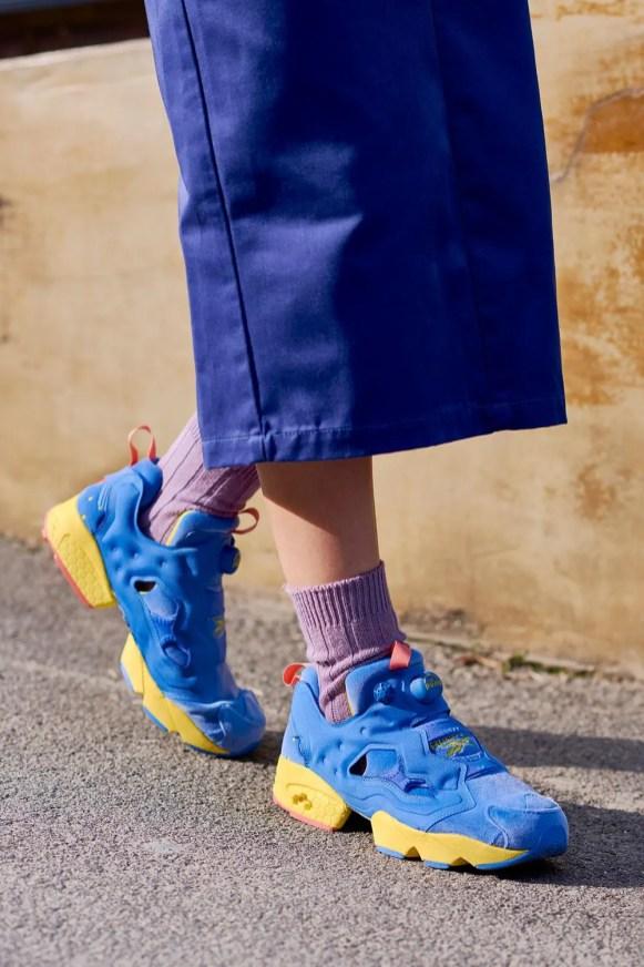 BT21 LINE FRIENDS Reebok INSTAPUMP FURY sneakers Collaboration BTS ライン フレンズ リーボック インスタポンプ フューリー スニーカー コラボ