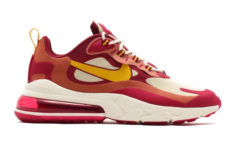 "Nike Air Max 270 React ""Mystic Red"" & ""Noble Red"" (ナイキ エア マックス 270 リアクト ""ミスティック レッド"" & ""ノーブル レッド"")"