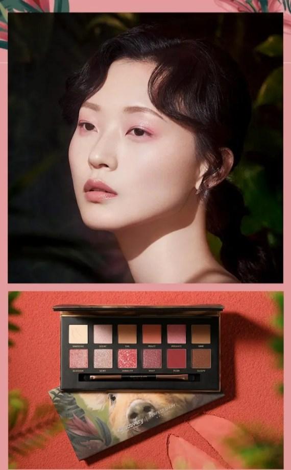 Chinese Cosmetics 中国 コスメ Perfect Diary x Discovery eye shadow パーフェクトダイアリー ディスカバリー アイシャドウ 海外 トレンド