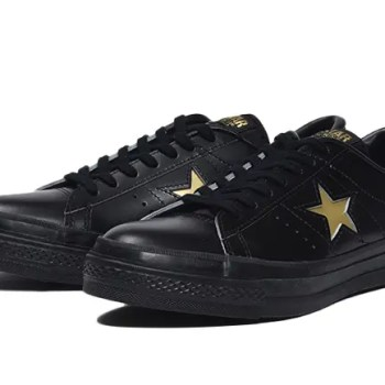 Converse ONE STAR J BLACK GOLD-01