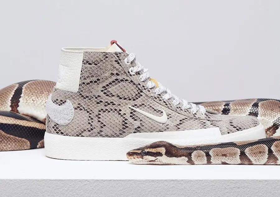 "SOULLAND x Nike SB Blazer Mid ""Snakeskin"" (ソウルランド × ナイキ SB ブレーザー ミッド ""FRI.day 03"")"