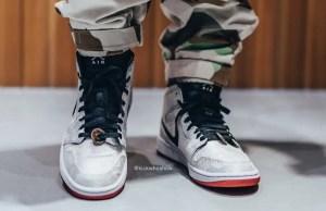 """CLOT × Nike Air Jordan 1 Mid """"Fearless"""" (クロット × ナイキ エア ジョーダン 1 ミッド """"フィアレス"""")"""
