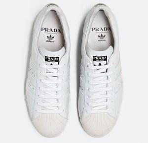 """Prada × adidas """"Prada for adidas Limited Edition"""" Superstar & Bowling bag (プラダ × アディダス """"プラダ フォー アディダス リミティッド エディション"""" スーパースター & ボウリング バッグ)"""