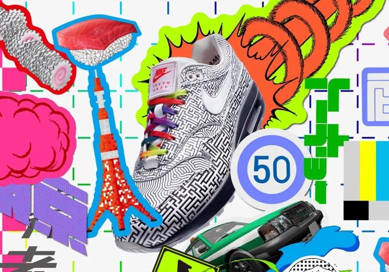 """""""Nike:On Air"""" Air Max 1 Tokyo Maze  """"ナイキ:オン エアー"""" エア マックス 1 トウキョウ メイズ"""