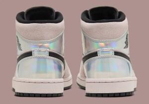 "Nike WMNS Air Jordan 1 Mid ""Iridescent"" (ナイキ ウィメンズ エア ジョーダン 1 ミッド ""イリディセント"") BQ6472-602"