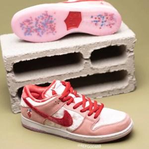 "StrangeLove × Nike SB Dunk Low ""Valentine"" (ストレンジラブ × ナイキ SB ダンク ロー ""バレンタイン"") CT2552-800"