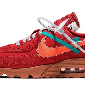 Off-White  x Nike Air Max 30 University Red