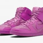 "AMBUSH × Nike Dunk Hi ""Pink Fuchsia"" アンブッシュ × ナイキ ダンク ハイ ""ピンク フクシア"" ACTIVE FUCHSIA/LETHAL PINK CU7544-600 main"