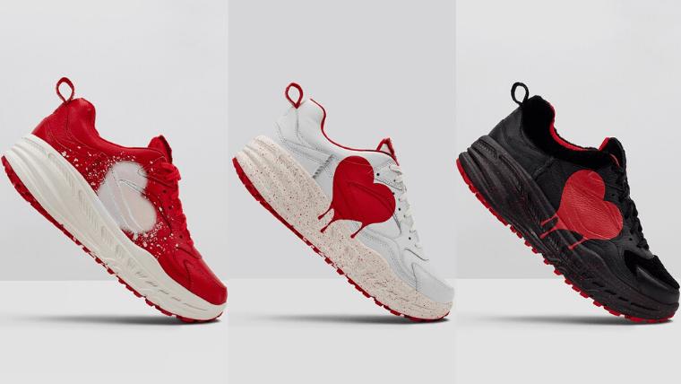 "UGG CA805 × Valentine Sneaker ""12x12"" (アグ CA805 バレンタイン スニーカー ""12x12"") 1116117-red, 1116813-wht, 1116812-blk"