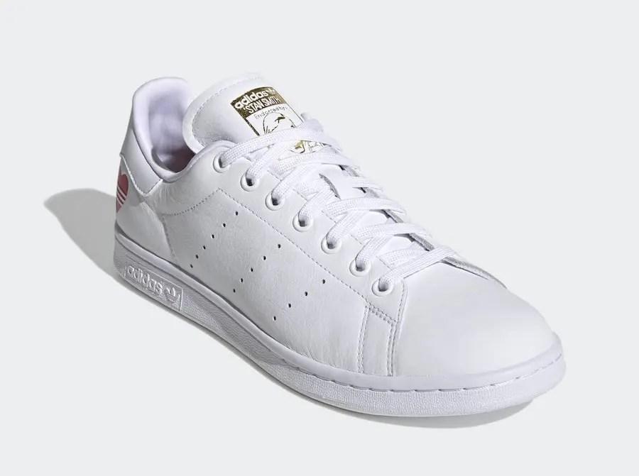 "adidas Stan Smith ""Valentine's Day 2020"" (アディダス スタンスミス ""バレンタインデー 2020"") FW6390, FV8260"