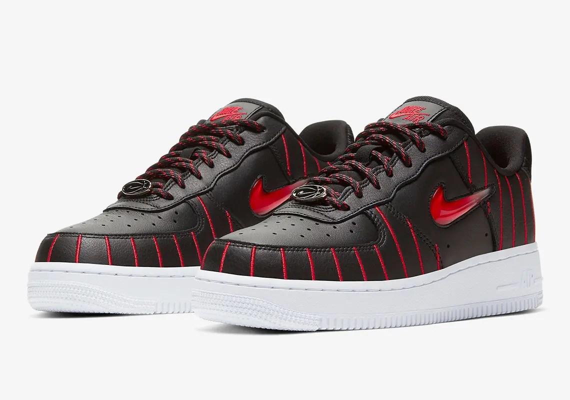 "Nike Air Force 1 Jewel ""Chicago"" (ナイキ エア フォース 1 ジュエル ""シカゴ"") CU6359-001"