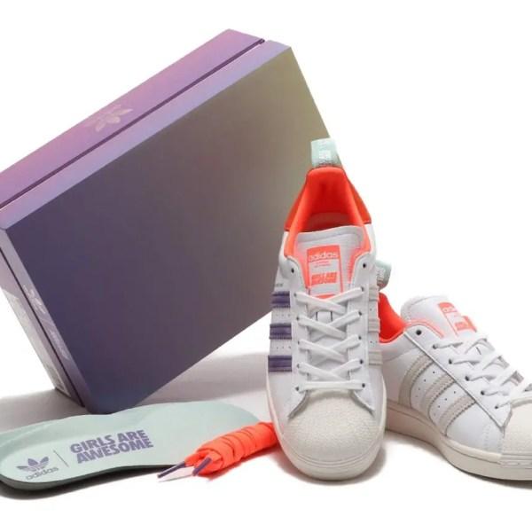 3月27日発売【adidas × GIRLS ARE AWESOME Superstar】アディダス × ガールズ・アー・オーサム スーパースター FW8084, FW8087, FW8110