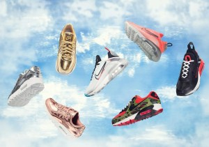 "atmos × Nike Air Max 2090 ""Duck Camo"" ""Lava Glow"" (アトモス × ナイキ エア マックス 2090 ""ダック カモ"" ""ラヴァ グロウ"") CU9174-600, CT7698-600"