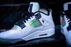 "Nike Air Jordan 4 ""Jamaica Carnival"" (ナイキ エア ジョーダン 4 ""ジャマイカ カーニバル"") AQ9129-100"