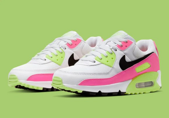 """Nike WMNS Air Max 90 """"Vivid Pink"""" & """"Watermelon"""" (ナイキ エア マックス 90 """"ビビッド ピンク"""" & """"ウォーターメロン"""") CT1030-001, CT1030-100"""
