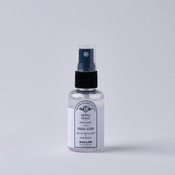 BALLON マスク用 抗菌・抗ウイルスアロマスプレー ハーバルブレンド -HERBAL BLEND- アロマ マスクスプレー