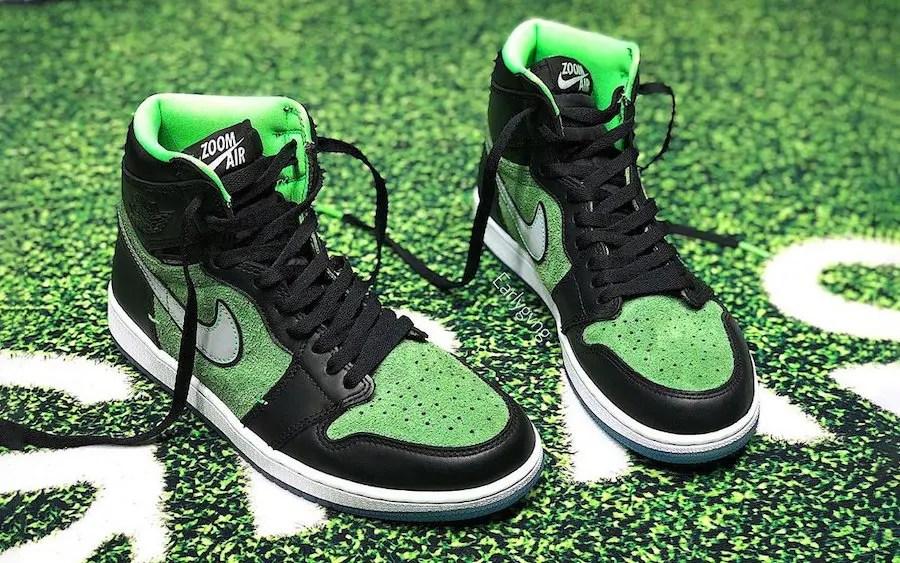 """Nike Air Jordan 1 HIGH ZOOM """"RAGE GREEN"""" (ナイキ エア ジョーダン 1 ハイ ズーム """"レイジ グリーン"""") CK6637-002"""