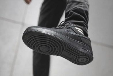 Stussy Nike Air Force 1 Low Black CZ9084-001 ステューシー ナイキ エア フォース 1 ブラック sole